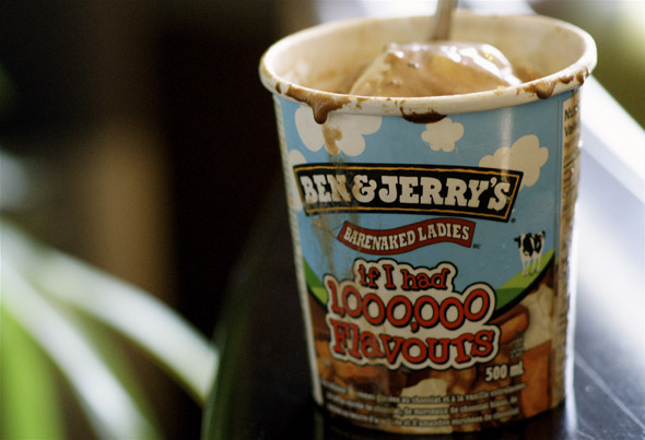 Barenaked Ladies' new Ben & Jerry's ice cream flavour