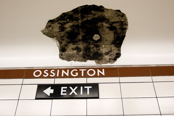 The Missing Ceiling at Ossington Station