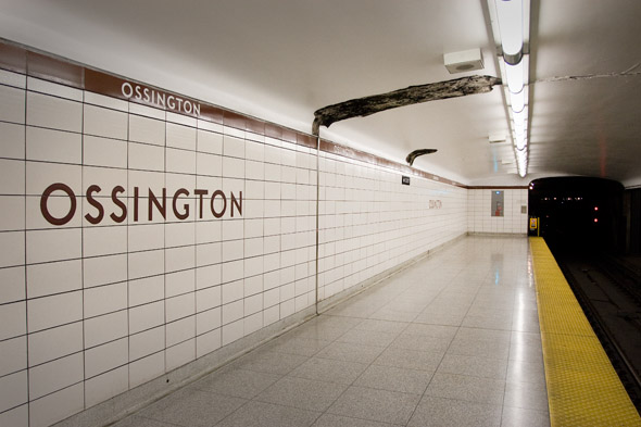 A wider look at Ossington Station
