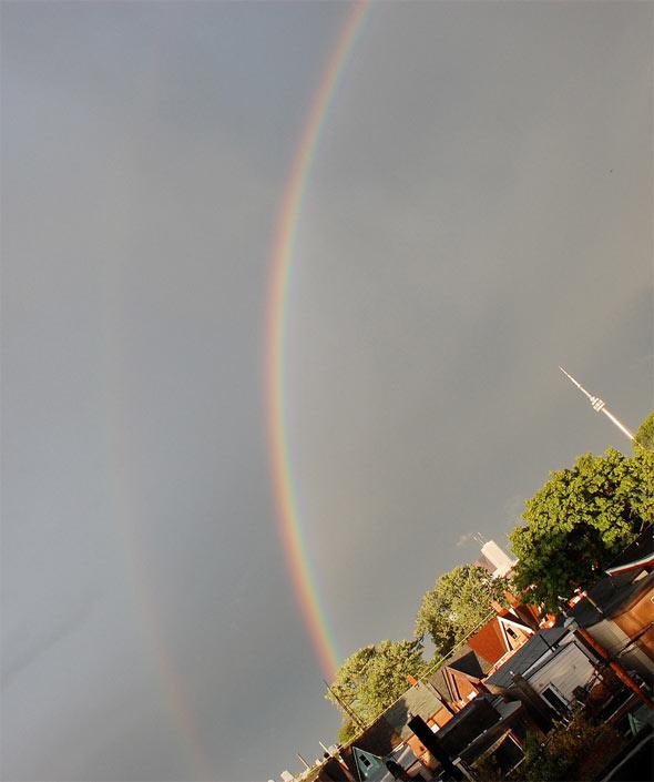 double rainbow toronto