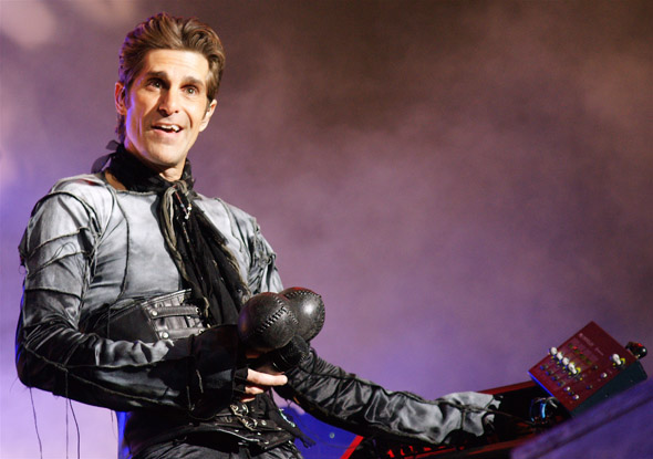 Perry Farrell in Toronto for the NIN/JA tour