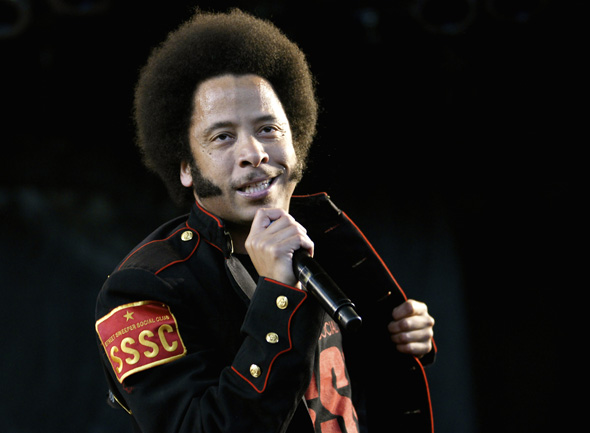Boots Riley of Street Sweeper Social Club in Toronto