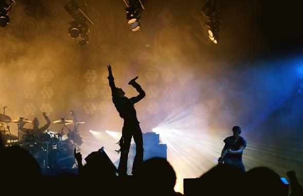 Jane's Addiction in Toronto for the NIN/JA tour