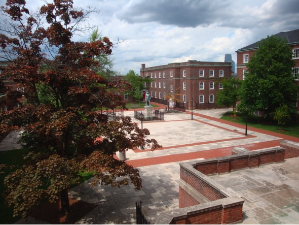 UCC courtyard