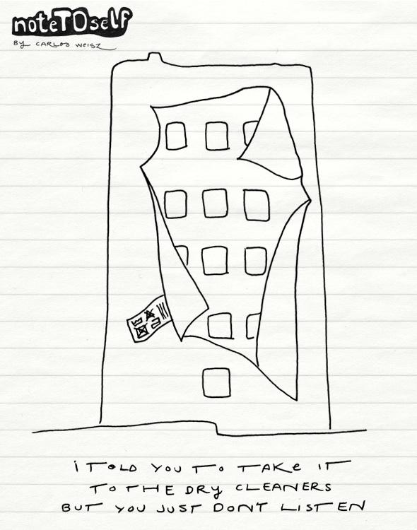 noteTOself flatiron building
