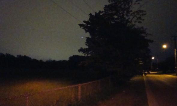 Near the David Dunlop Observatory