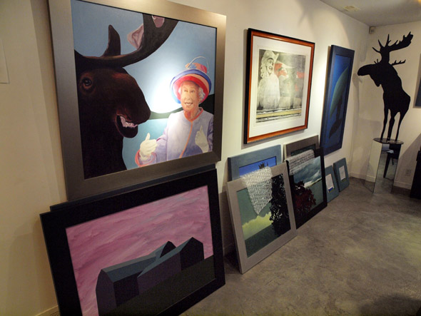 Gallery in Pachter House
