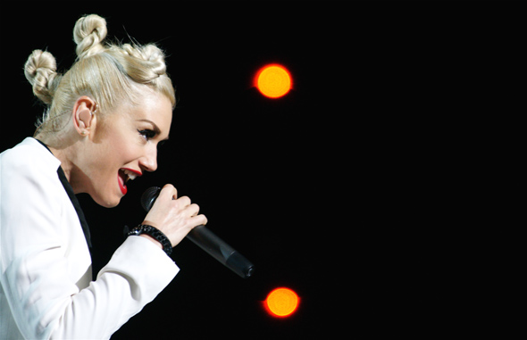 Gwen Stefani of No Doubt at the ACC in Toronto