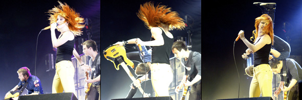 Paramore opening for No Doubt at the ACC in Toronto