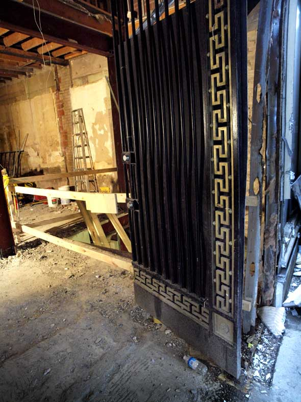 The door at 83 Bloor West