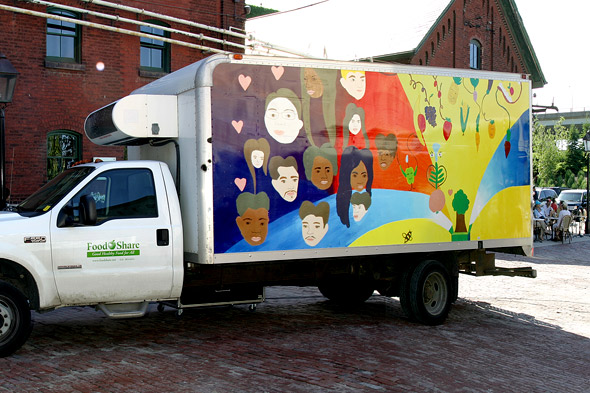 FoodShare's 'field to table' van