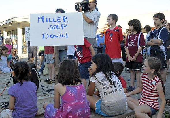 Christie Pits Dump Protest