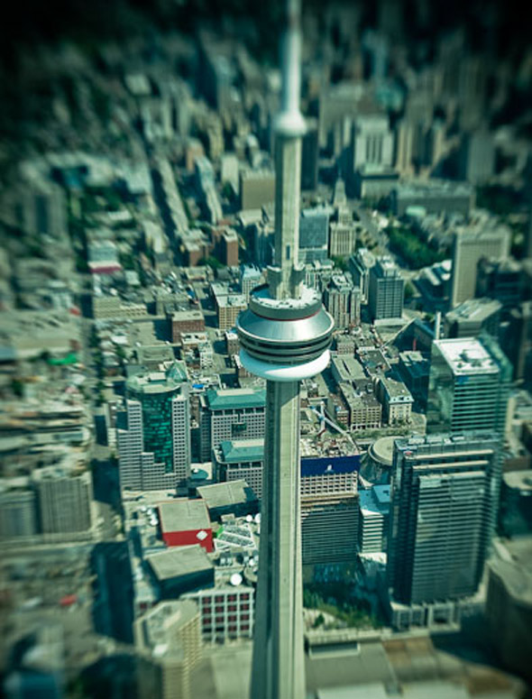 CN Tower Aerial