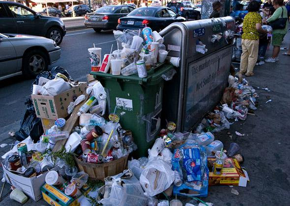 garbage strike