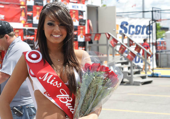 Miss Budweiser at the Honda Indy in Toronto