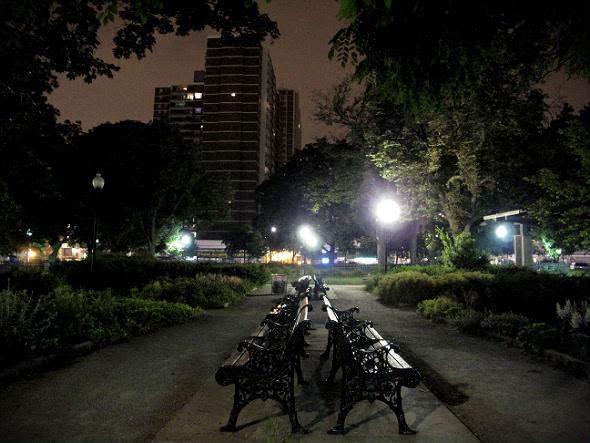 Allan Gardens Benches