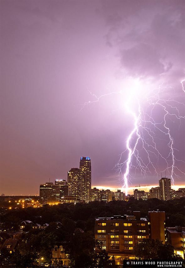 toronto lightning storm august 9th