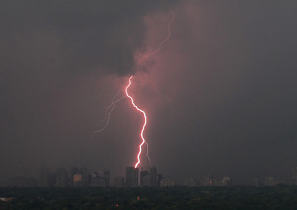 toronto storm lightening august 20th