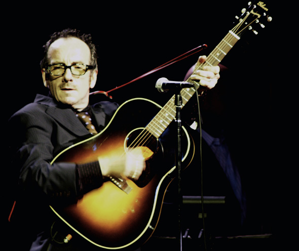 Elvis Costello at Massey Hall in Toronto