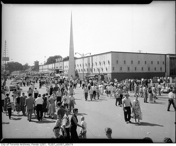 The CNE Food Building in the 1950s