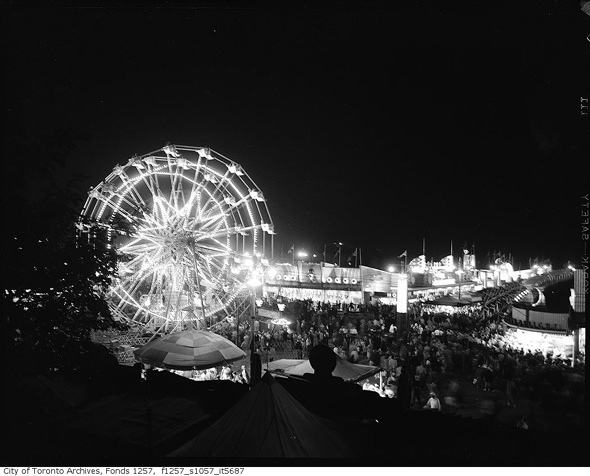 CNE Midway in 1952