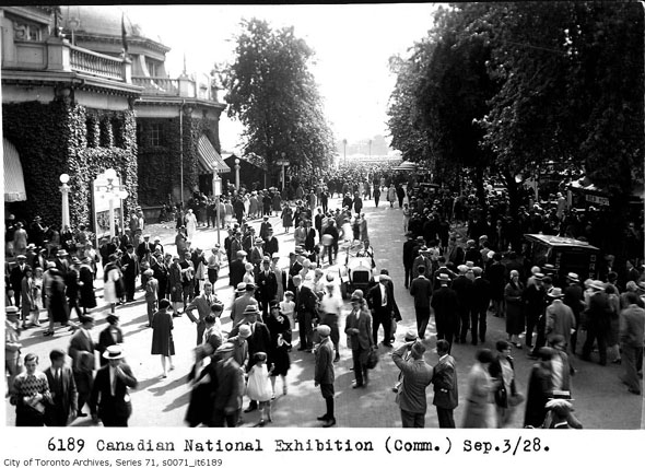 CNE Music Building in 1928
