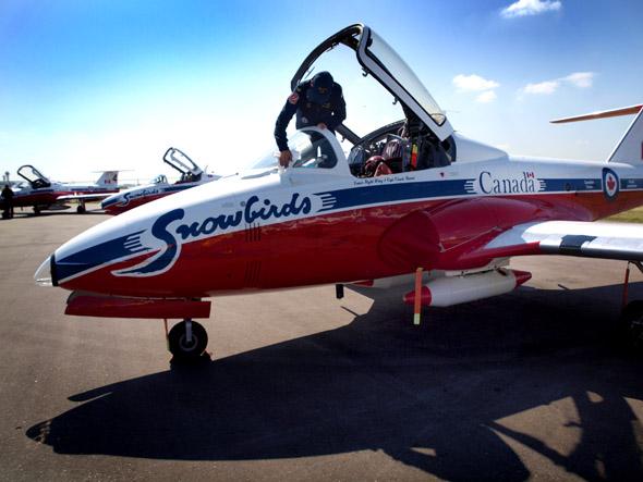 Snowbirds CNE Air Show