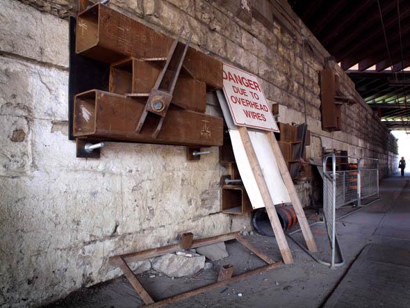 Queen and Dufferin Construction