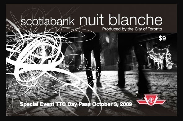 Nuit Blanche ttc day pass