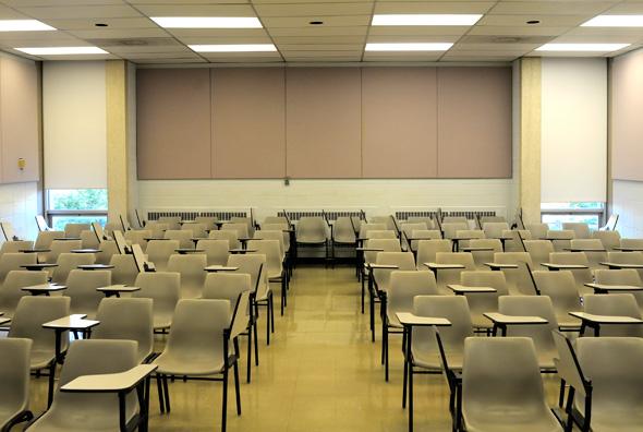 Empty-Classroom U of T