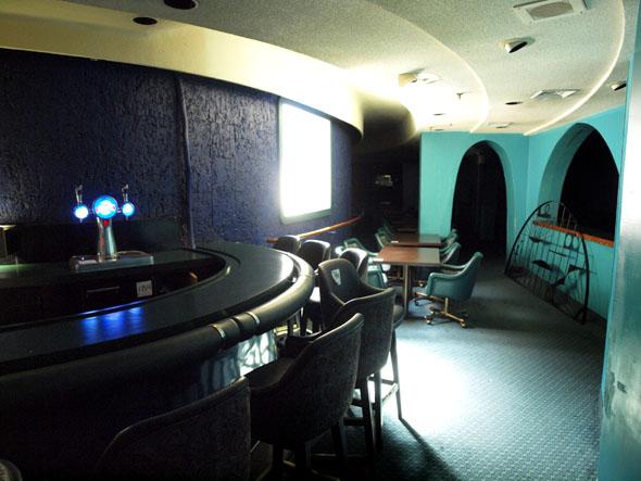 The empty Mermaid Bar