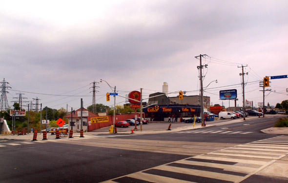 St. Clair and Caledonia in 2009
