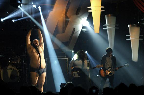 Fucked Up at 2009 Polaris Music Prize awards