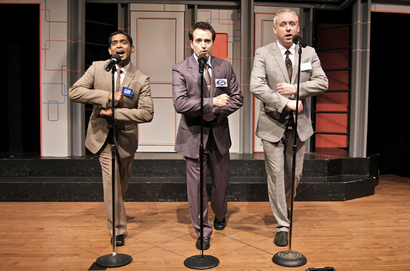 Second City's Darryl Hinds, Reid Janisse and Rob Baker