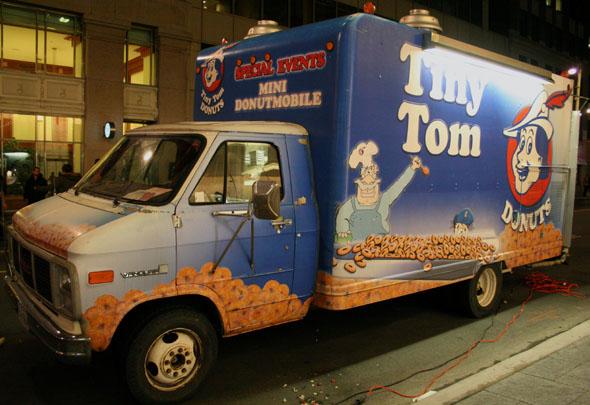 Tiny Tom's Donutmobile