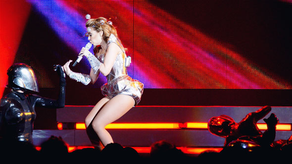 Kylie Minogue at the ACC in Toronto