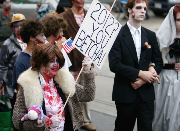 Sarah Palin at the 2009 Toronto Zombie Walk12