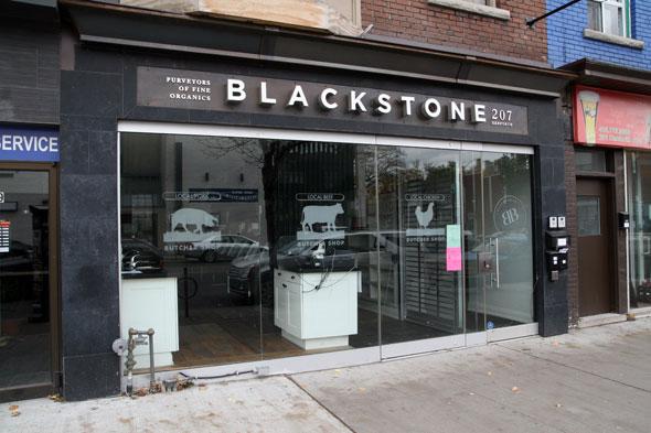 Blackstone Organic Meats Closed