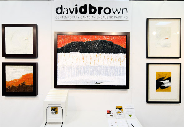 David Brown Encaustic