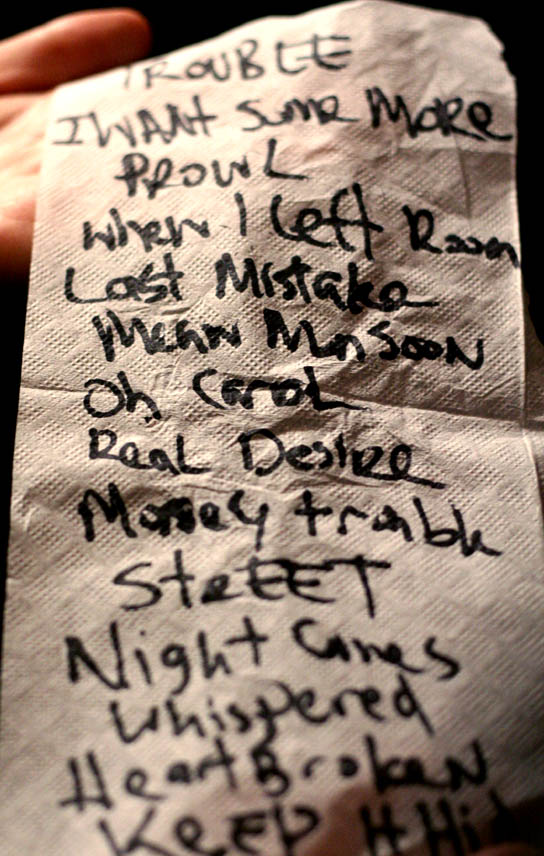 Dan Auerbach of the Black Keys Live in Concert