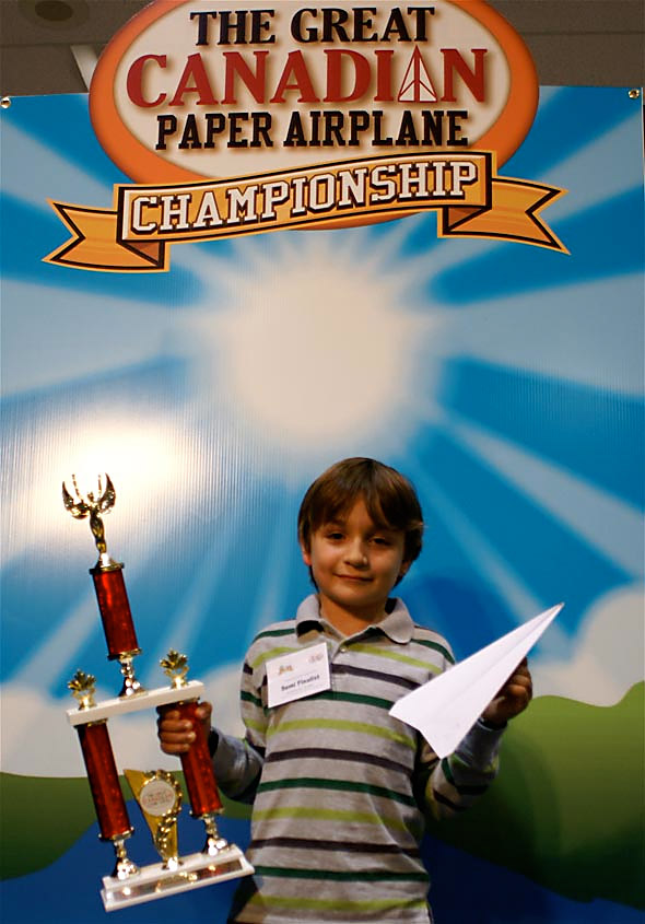 Great Canadian Paper Airplane Championship