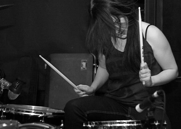 Holy Cobras drummer