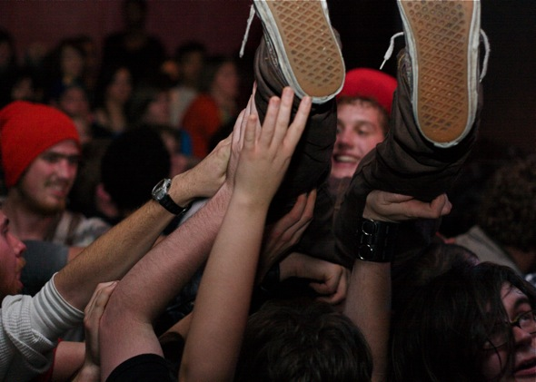 Crowd Surfer at Lee's Palace
