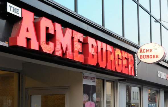 Acme burger annex