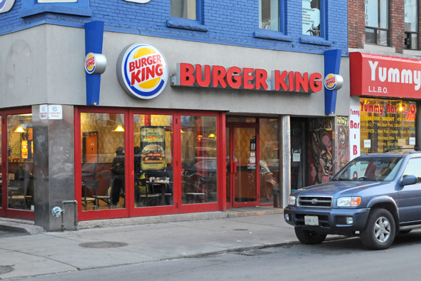 Burger King annex