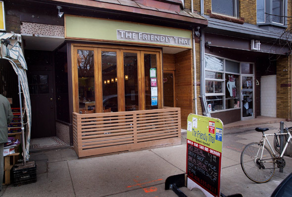 Friendly Thai on Roncesvalles