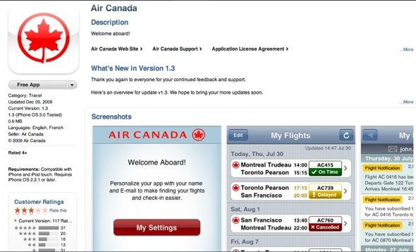 AirCanadaApp