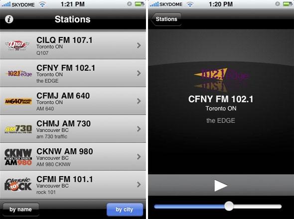 CorusRadioApp