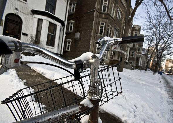 Winter Cycling Toronto