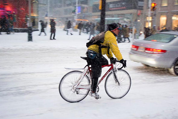 Ride Your Bike in the Winter